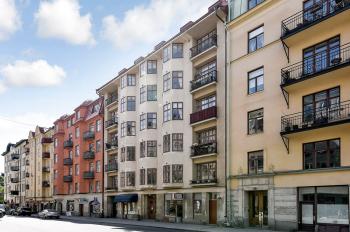 fasadrenovering i Stockholm
